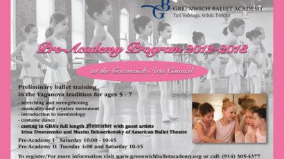 Pre-Academy Ballet Program 2012-2013