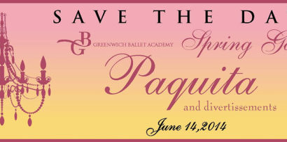 GBA Annual June Gala Ballet Performance to be held June 14, 2014