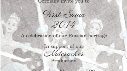First Snow 2014 GBA Annual Gala Fundraiser – Tickets Now Available