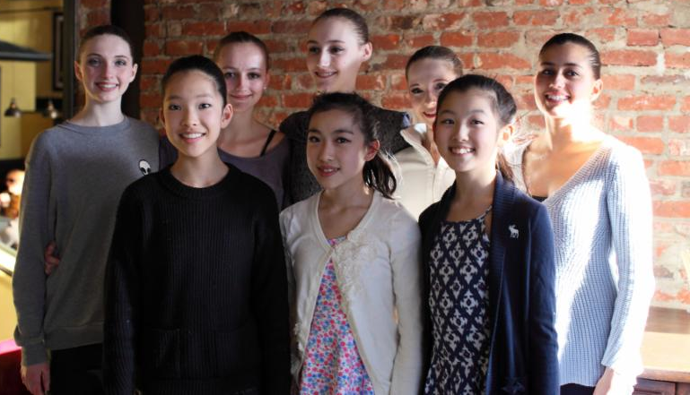 ( From Left, back row: Phoebe Anderson, Rebekah Lindsey, Emma Kelly, Laura Baruch, Maria Jose Esquivel.  From Row: Nio Hirano, Jada Yang, Allison Chen. Not Pictured:  Allison Sobieri )