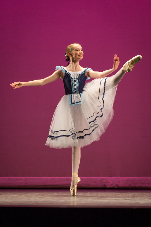 Lee Melton, 5th place in Connecticut Classic, will be featured at the YAGP showcase