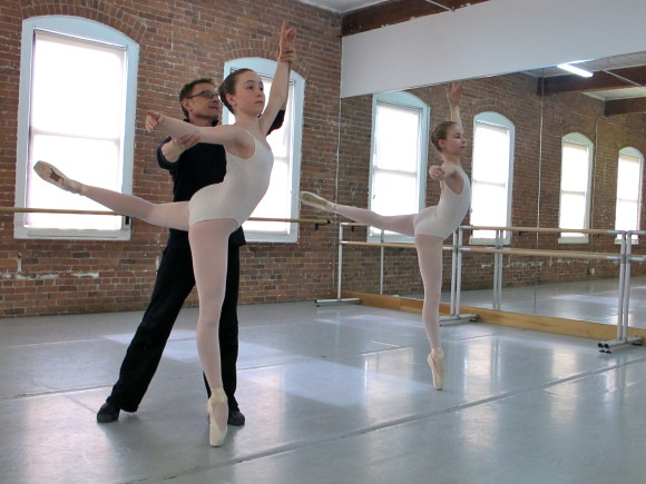 Yuri Vodolaga, Artistic Director. GBA Summer Intensive participants receive the personalized instruction of ballet master instructors