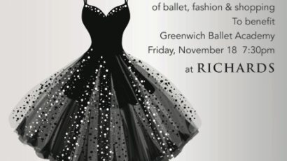 """Tutu Chic"" Benefit for GBA On November 18, 2016 – Tickets Now Available"