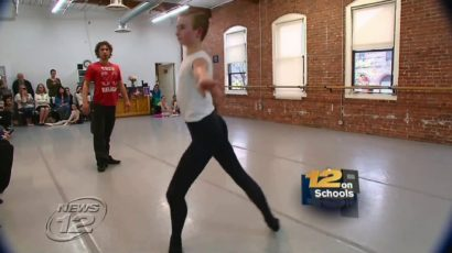 Greenwich Ballet Academy Master Class on 12 News TV