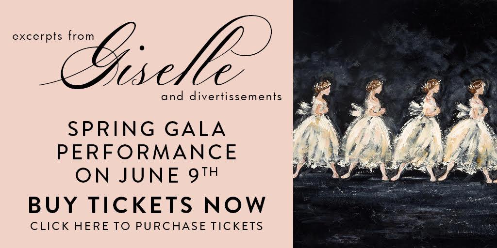 Giselle Ballete June Gala 2018