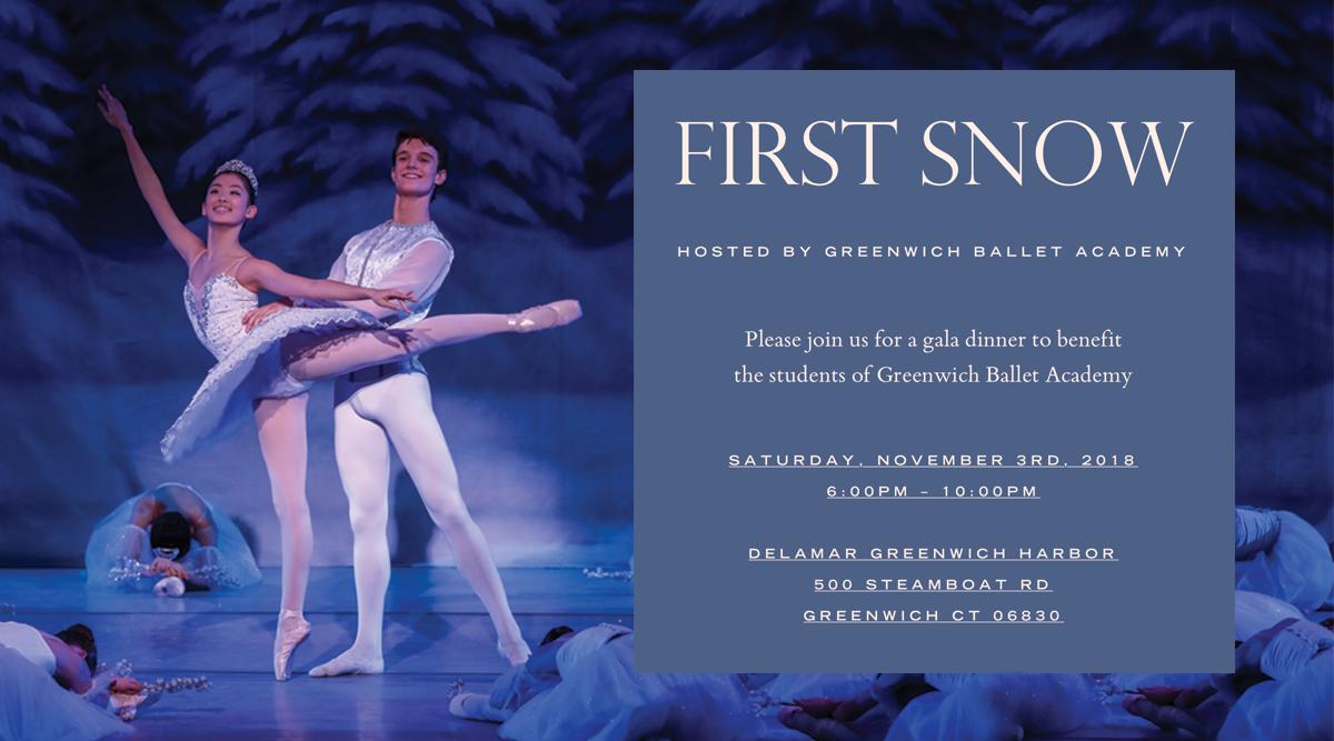 First Snow Ballet Performance 2018